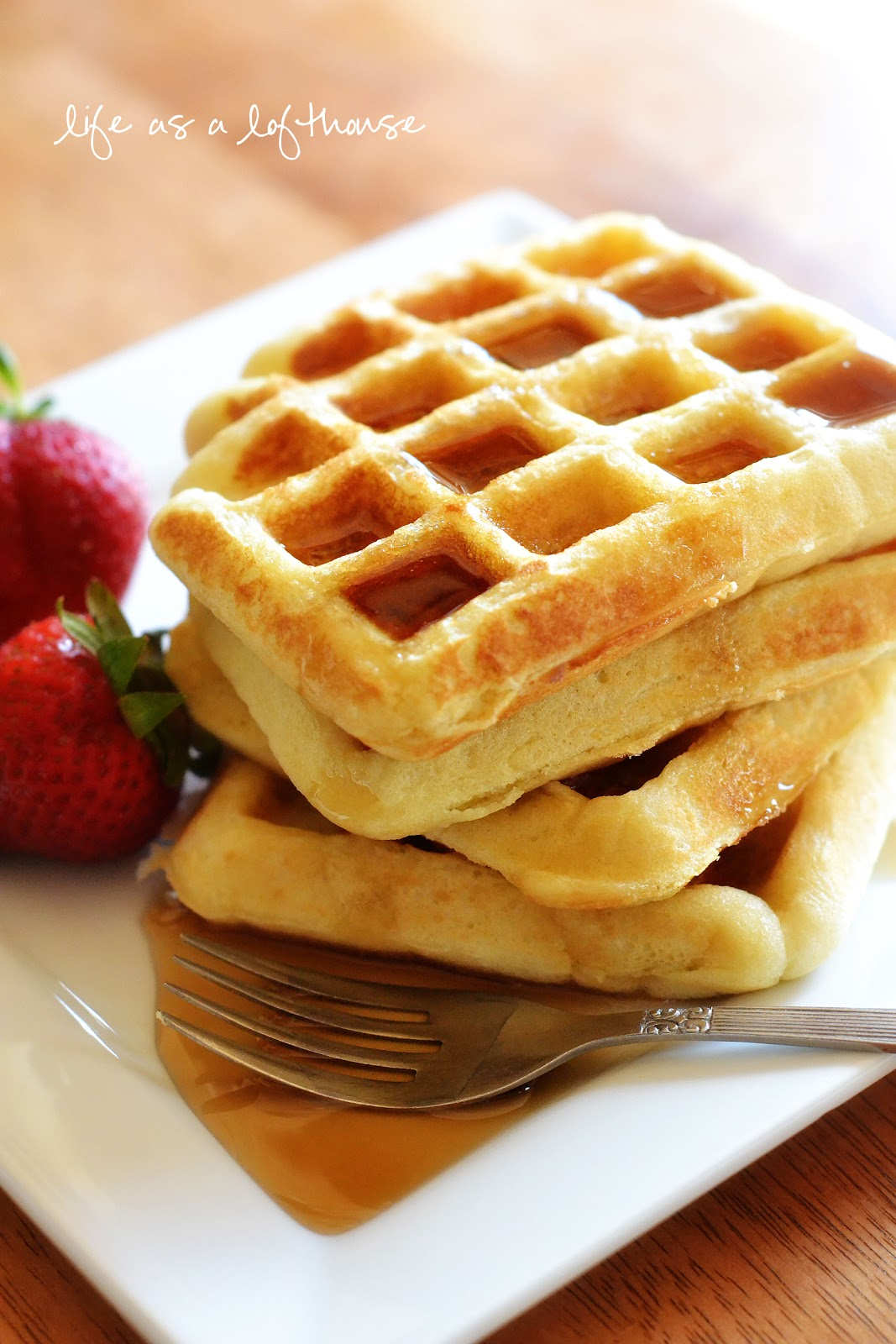 Waffles and bacon are some of my favorite breakfast foods. The two ...