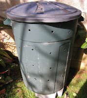 Trash bins can often be purchased very cheaply at second hand stores.