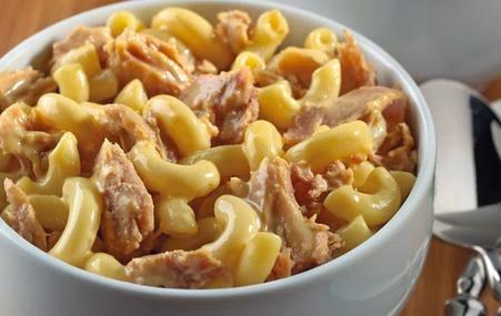 Cheesy Tuna Mac & Cheese