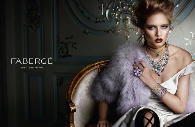 Nova Coleção Faberge, por Mario Testino.