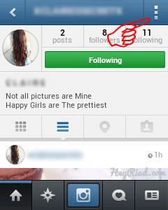 Cara memblokir teman di instagram dengan cepat