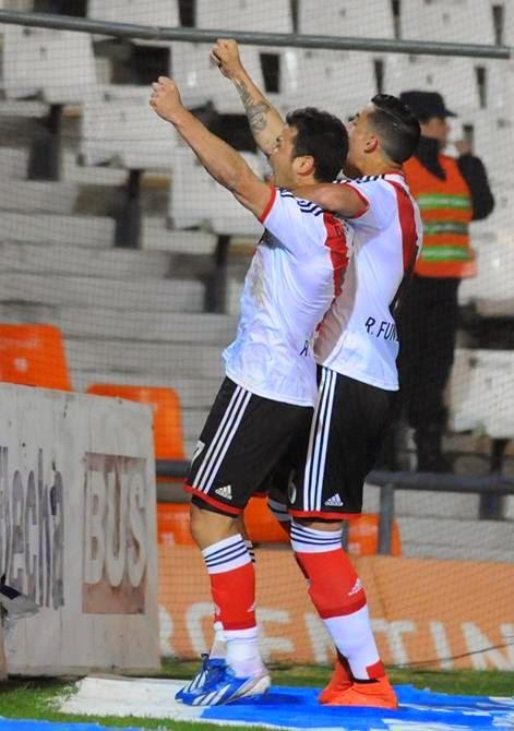 Rodrigo Mora, Mora, Gol, River, River Plate, Godoy Cruz, Torneo Transición, 2014, Emiliano Díaz,