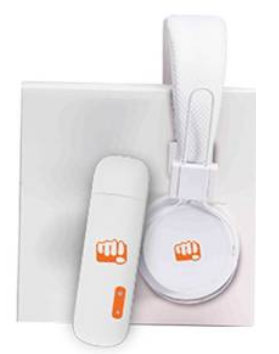 Micromax MMX 219W 3G USB Modem Data Card (White) with Headphone for Rs 1350 (SBI) or Rs 1499