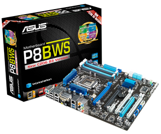 New ASUS P8B WS Workstation Motherboard pic