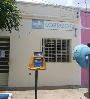 Frei Martinho tem agência dos Correios assaltada no início da tarde desta quarta (20)