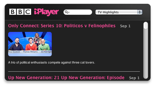 BBC iPlayer News