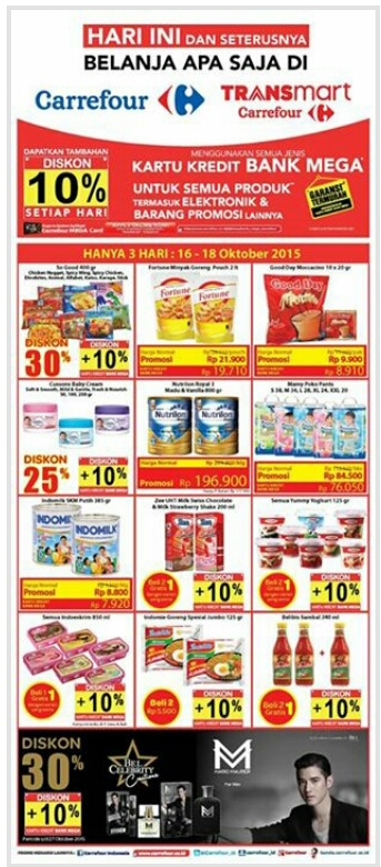 Katalog Carrefour Weekend Promo oktober 2015