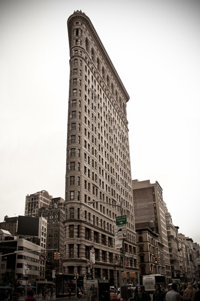 The Flatiron Building | Flatiron District | photo - Marika Jarv