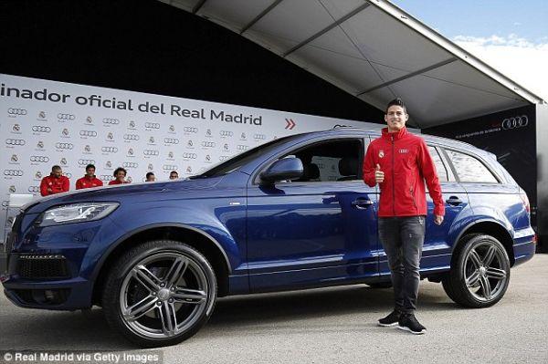 Audi Pilihan Pemain Real Madrid