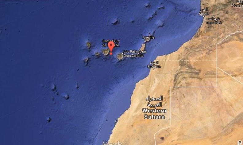 terremoto gran canaria - tenerife 31 marzo