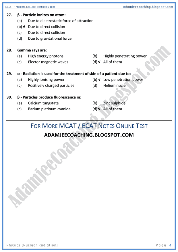 mcat-physics-nuclear-radiation-mcqs-for-medical-entry-test