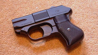 COP 357 Derringer multiple barrel firearm handgun