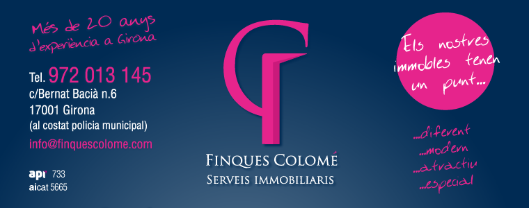 IMMOBILIARIA FINQUES COLOMÉ