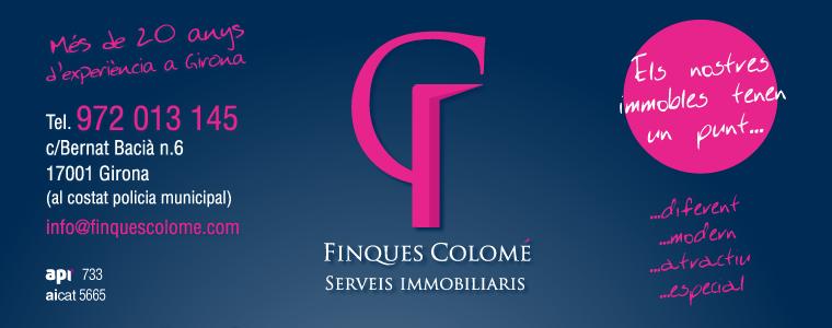 IMMOBILIARIA FINQUES COLOMÉ