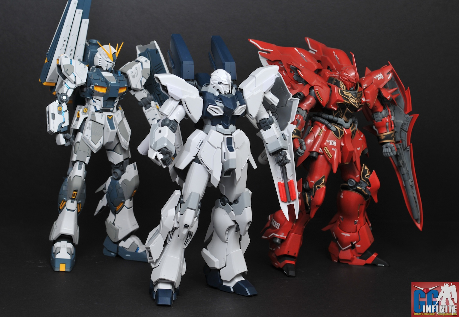 GUNDAM GUY: MG 1/100 MSN-06S Sinanju Stein - Review by ...
