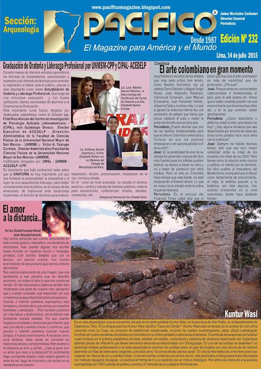 Revista Pacífico Nº 232 Arqueología