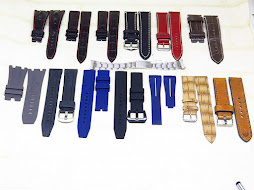 PART B : LEATHER - RUBBER STRAP AND STEEL BRACELET
