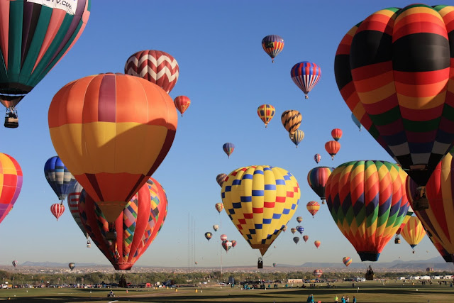 Albuquerque Hot Air Balloon Festival5