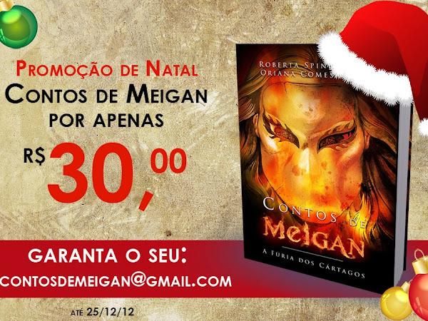 Promoção de Natal com Contos de Meigan - A Fúria dos Cártagos