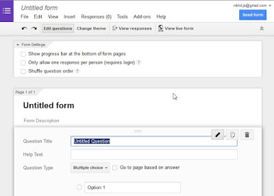 how to add additional questions on goodle forms