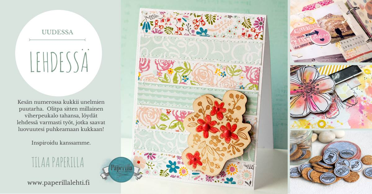 Paperilla paper crafting magazine Summer issue