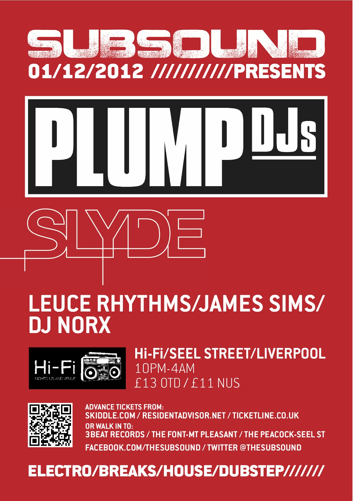 SUBSOUND Liverpool