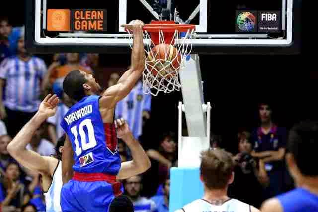 MUST WATCH VIDEO: Gabe Norwood Best Dunk on FIBA 2014 over NBA Star Luis Scola