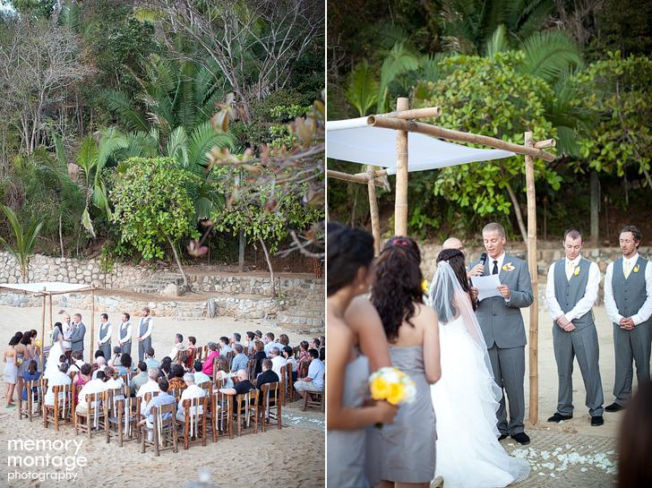 memory montage photography blog las caletas wedding