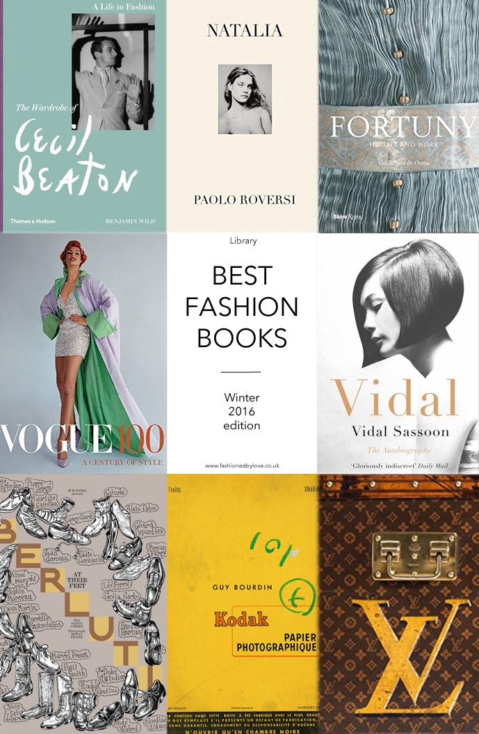 Best new fashion books / Winter 2016 edition featuring 12 most beautiful and interesting titles to add to the fashion library via www.fashionedbylove.co.uk british fashion blog