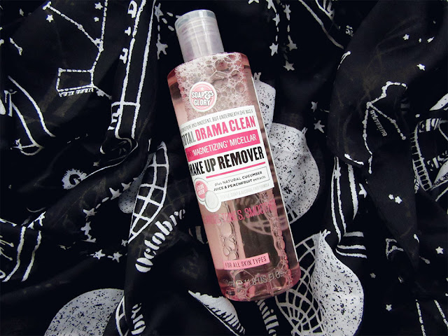 soap and glory total drama clean 5-in-1 micellar cleansing water