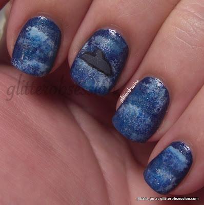 glitter obsession: Dolphin Nail Art