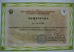 Ana arı üretim sertifikam