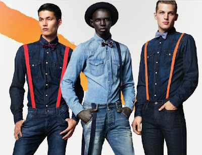 BENETTON HOMBRES DENIM GEOMETRIA COLOR