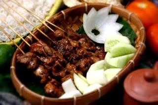 Resep Makanan Sate Ayam Pedas dan Bahan-Bahan