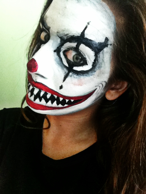 Scary Mime Makeup Jade louise makeup its only make believe