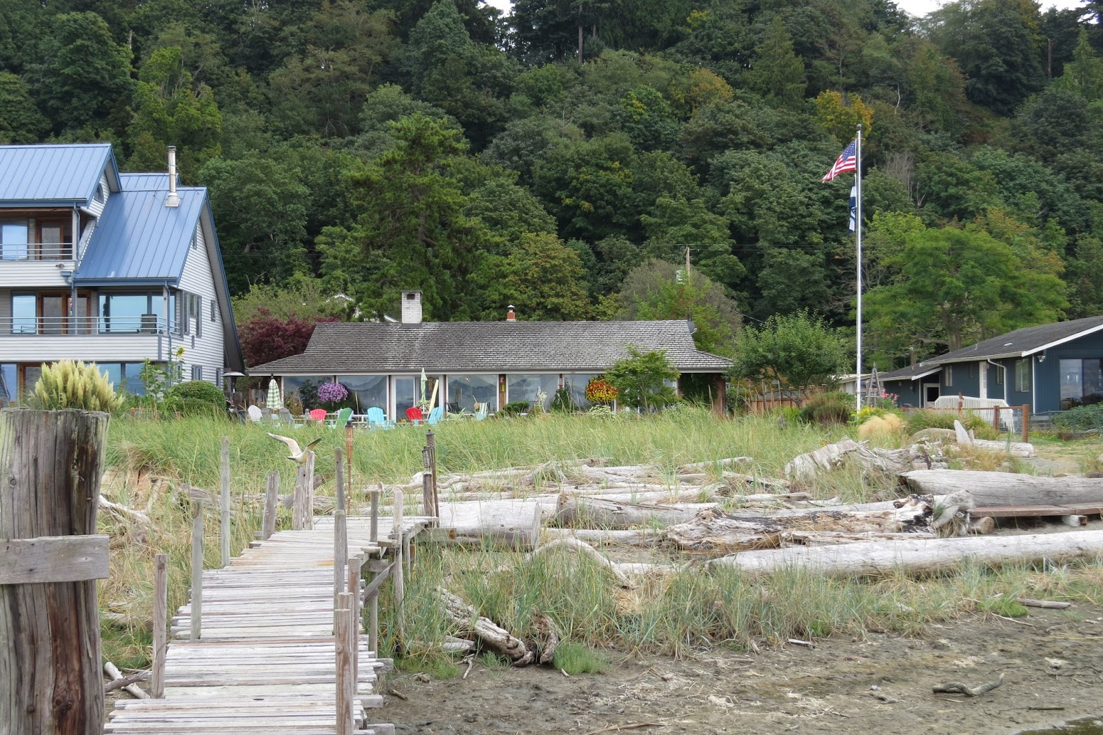 Beach House on Maxwelton Beach on Whidbey Island