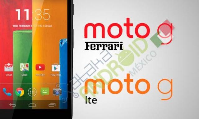 Moto G LTE & Ferrari