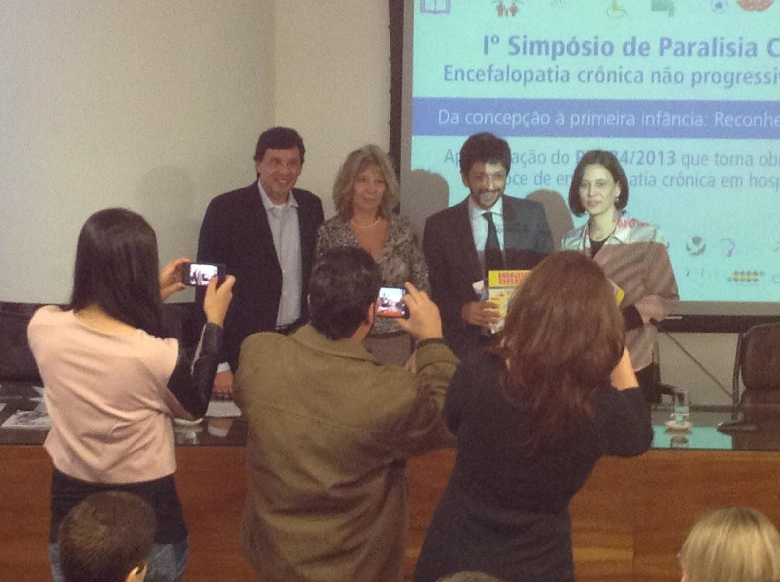 Seminario Paralisia Cerebral na Câmara Municipal de SP