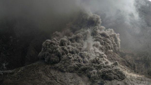 Derita 10.377 jiwa Letusan Gunung Sinabung