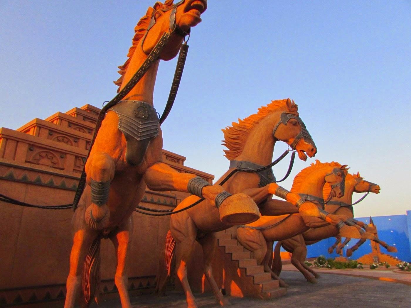 Baahubali Sets - The World Of Baahubali Sneak Peak HD images | Rajamouli | Prabhas | Anushka
