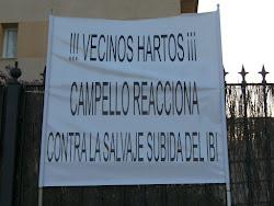 !!! VECINOS DE MUCHAVISTA  HARTOS !!!