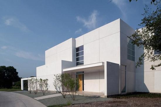 Casas con fachadas minimalistas nuevas tendencias - Fachadas arquitectura ...