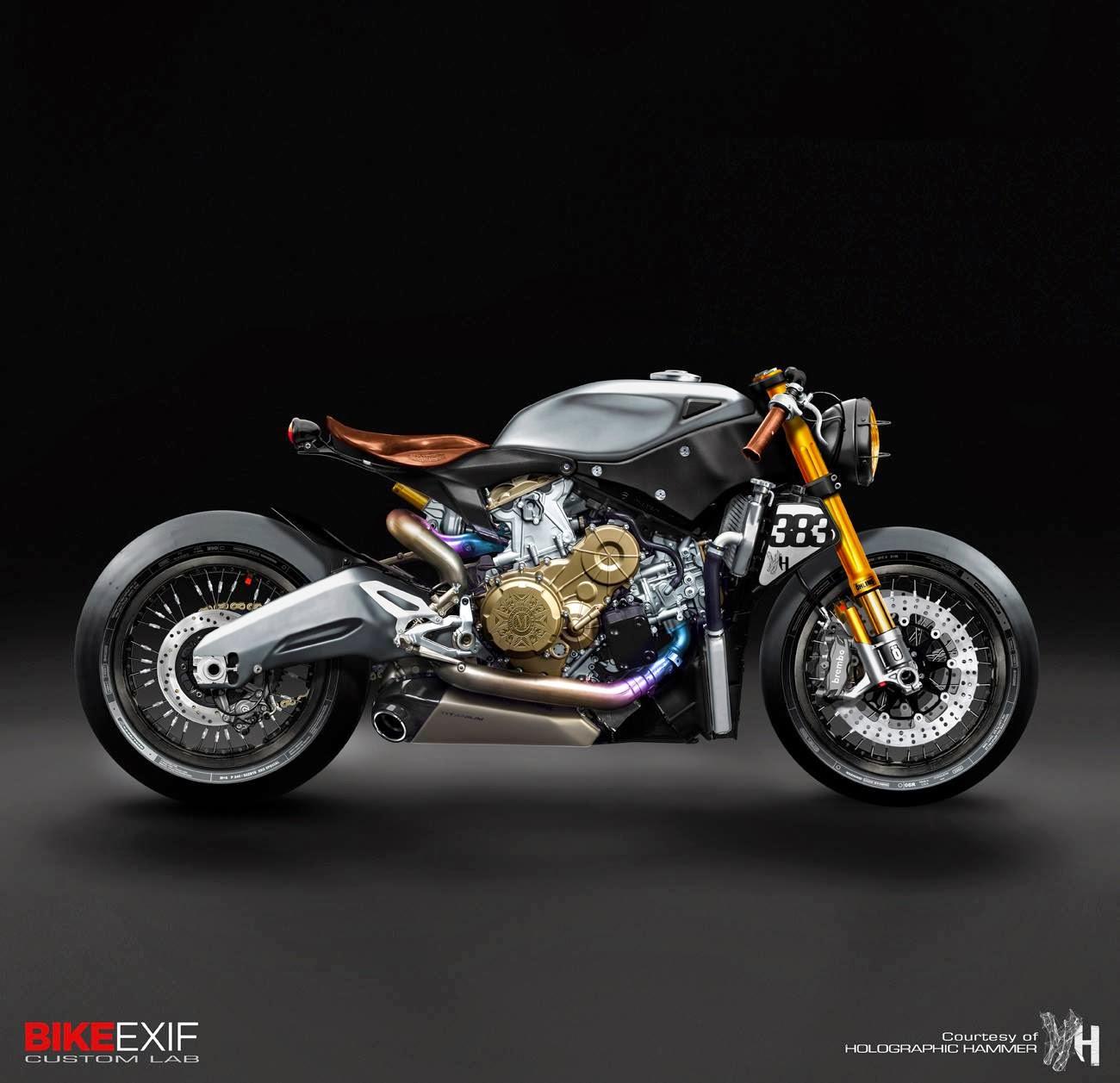 Cafè Racer Concepts - Ducati 1199 Panigale Cafè Racer by Holographic ... Yamaha Superbike 2017