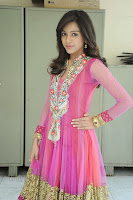 Vithika Shery in Gorgeous Pink Salwar Suit Stunning Beauty