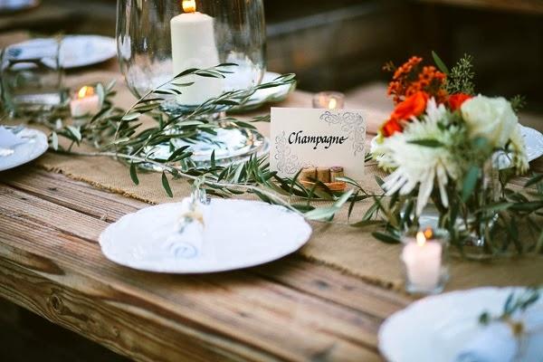 boda chic de inspiración rústico francesa