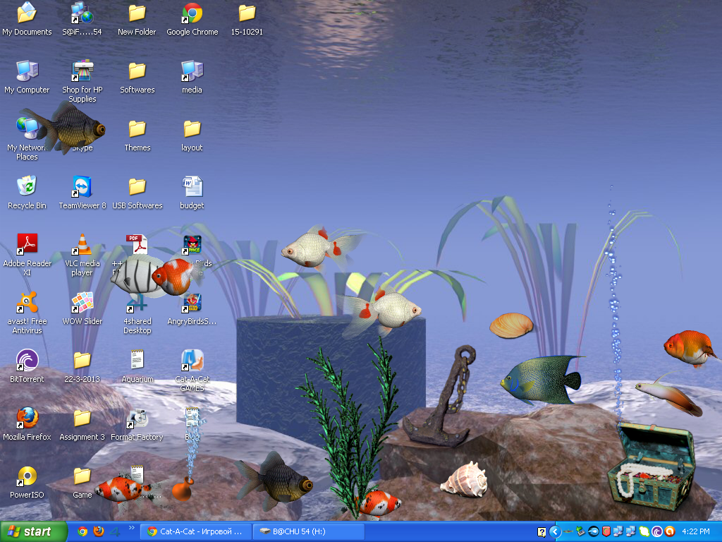Fish aquarium for windows desktop free download download for Desktop fish tank