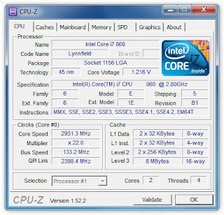 Free Download Software CPU - Z 1.61.3