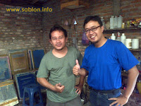 Kunjungan ke Workshop Sablon Kaos Freedom Cloth Wedi Klaten