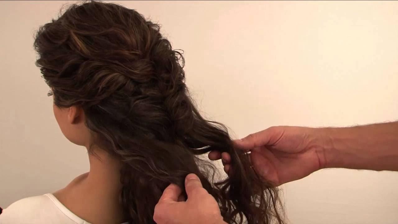 Penteado trança romana
