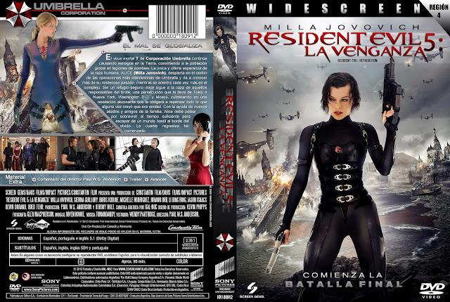 Resident Evil 5 Venganza Blurayrip